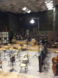 Inside the FAMES Orchestra Studio, Macedonia