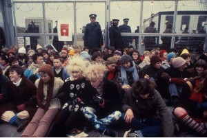 greenham police at the gates