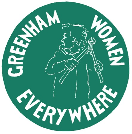 Greenham Police at the Gates